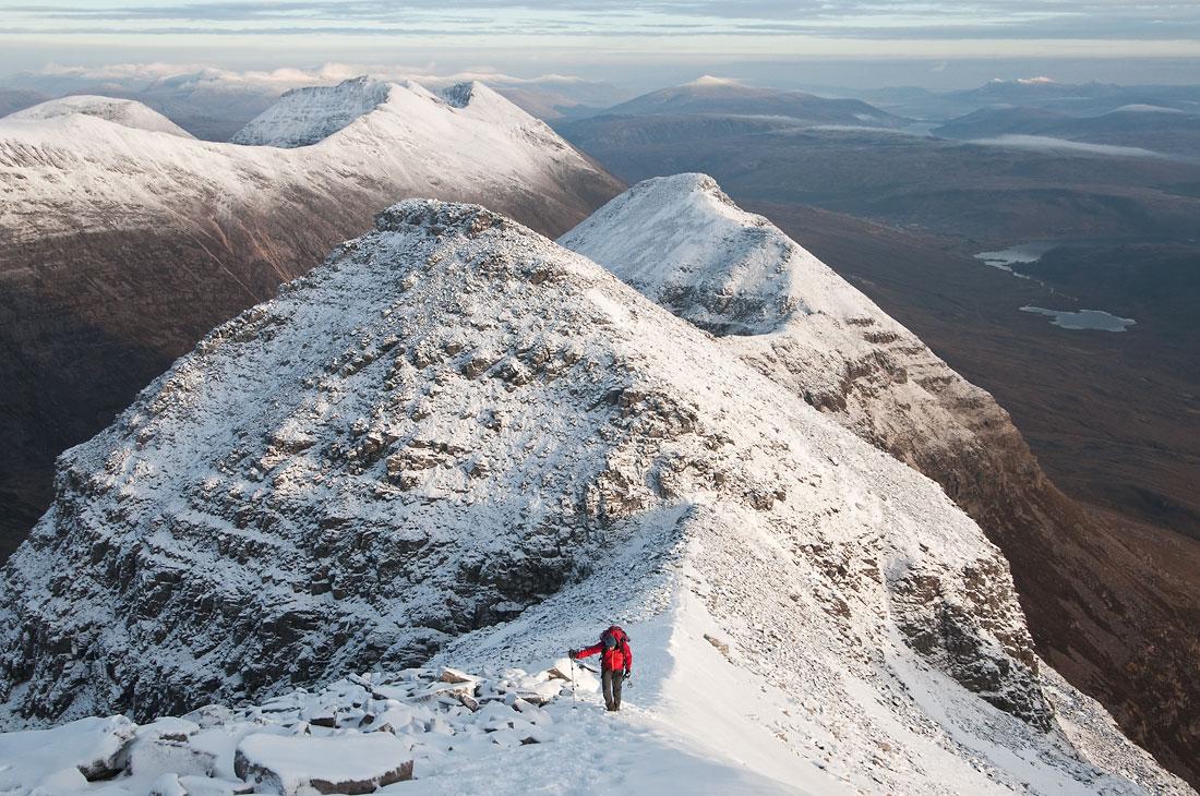 Liathach main ridge