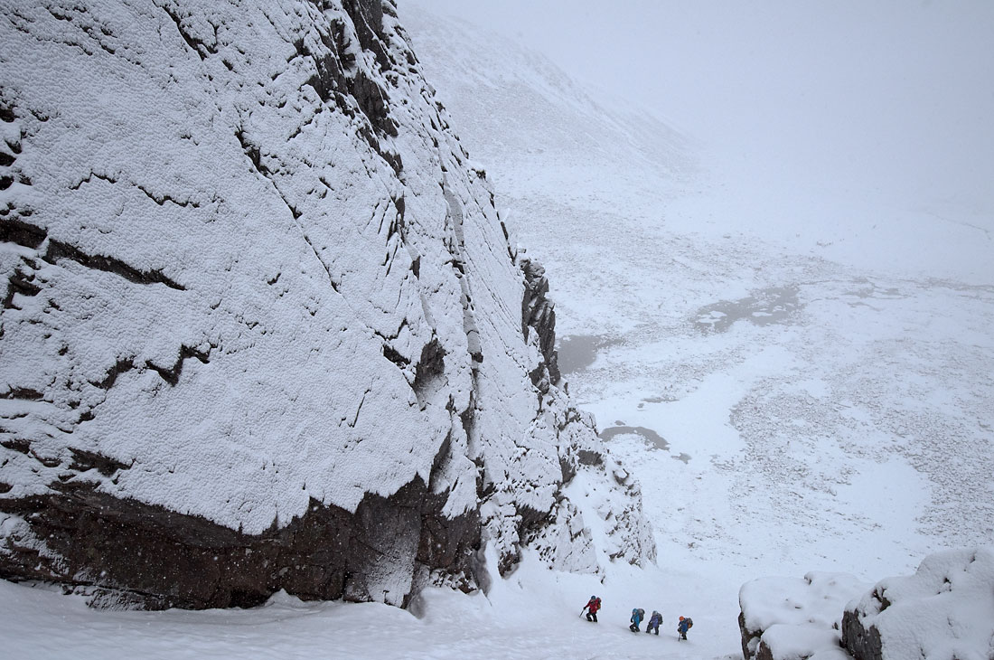 Alladins Couloir Northern Cairngorms