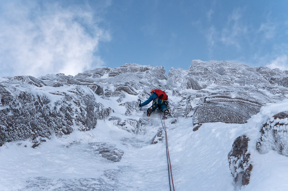 Fluted Buttress Direct Northern Cairngorms