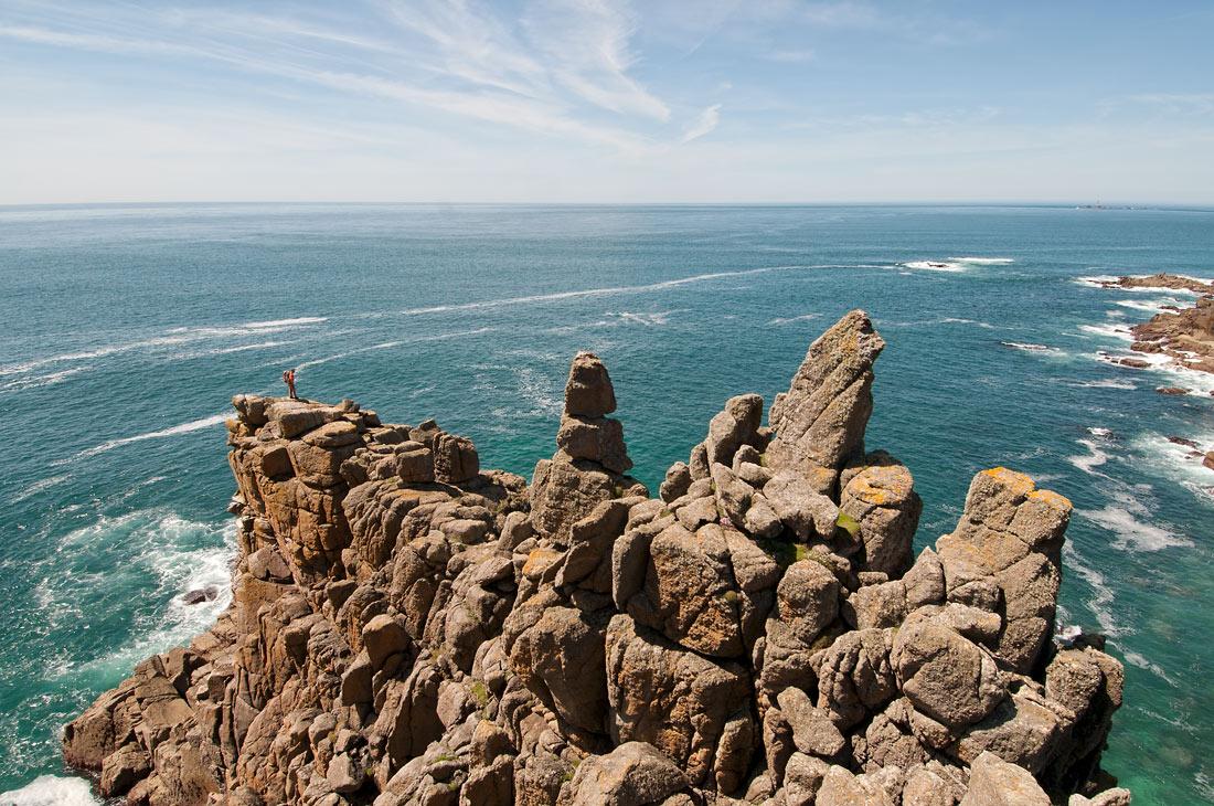 Fox Promontory Cornish granite