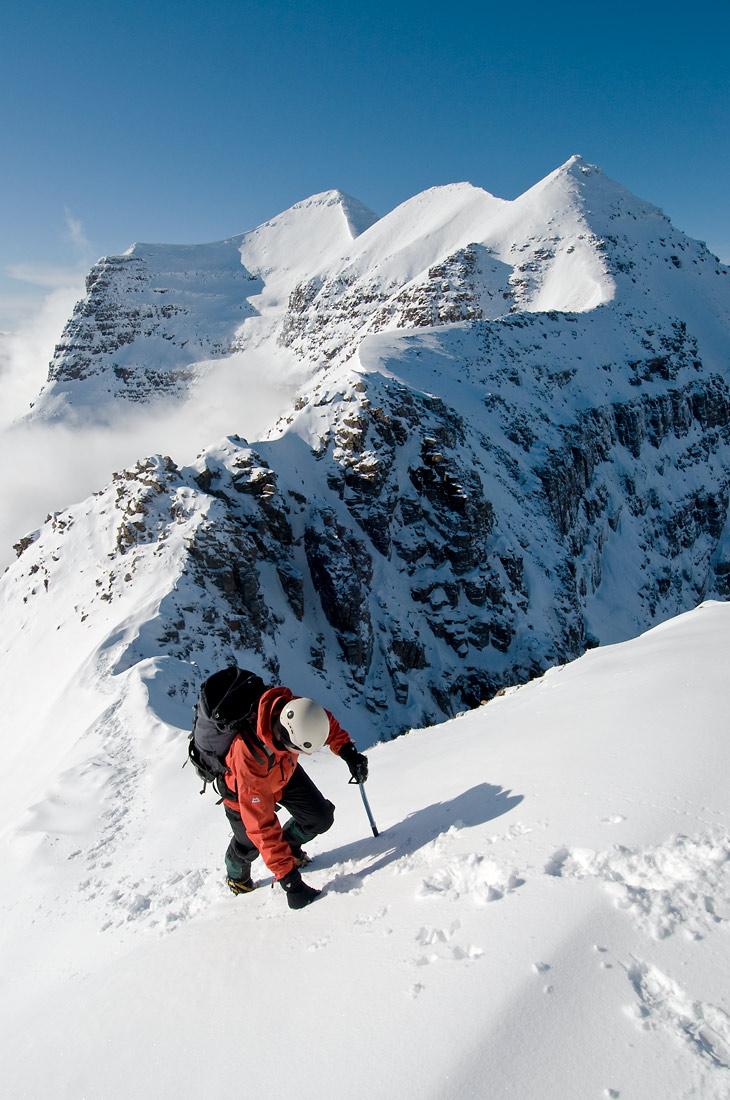 Liathach winter traverse Torridon
