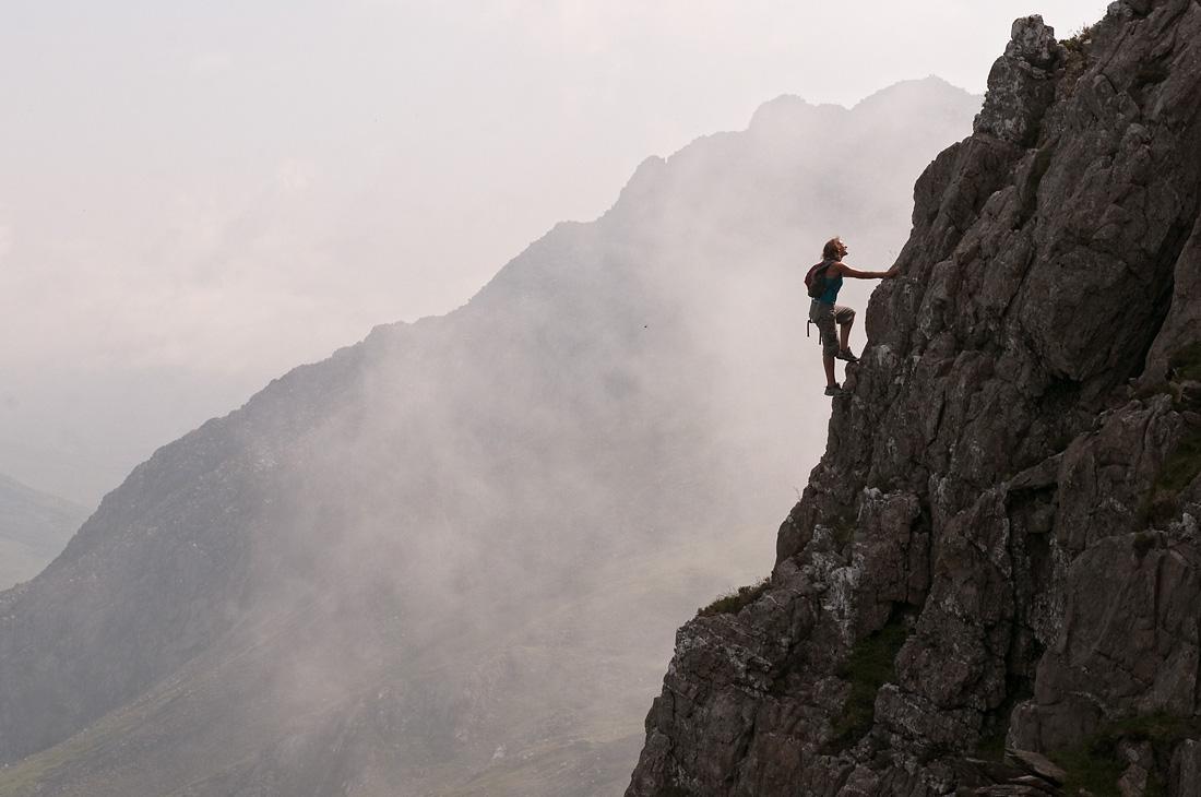 East Ridge of Y Garn Snowdonia