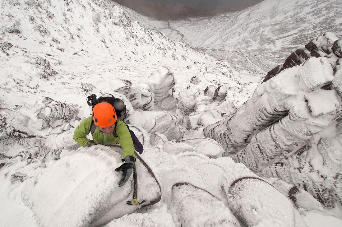 An Teallach Corrag Buidhe Pinnacles