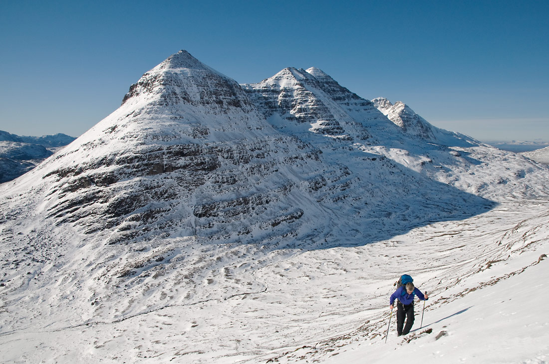 The north side of Liathach, Torridon