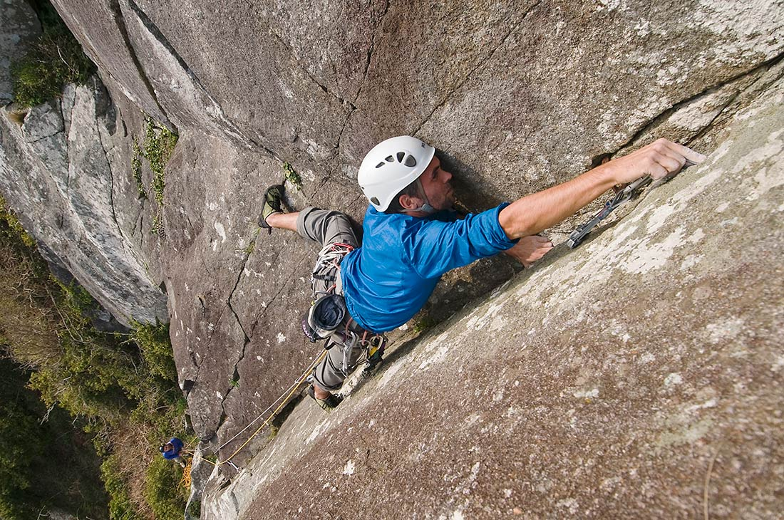 Climbing Clutch at Tremadog