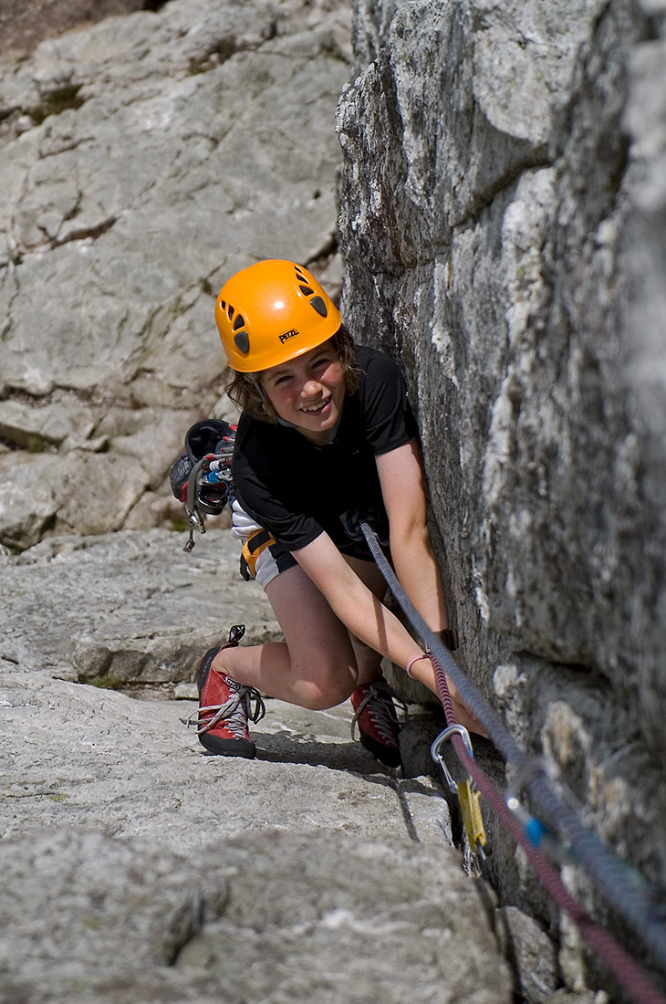 Climbing at Holyhead Mountain