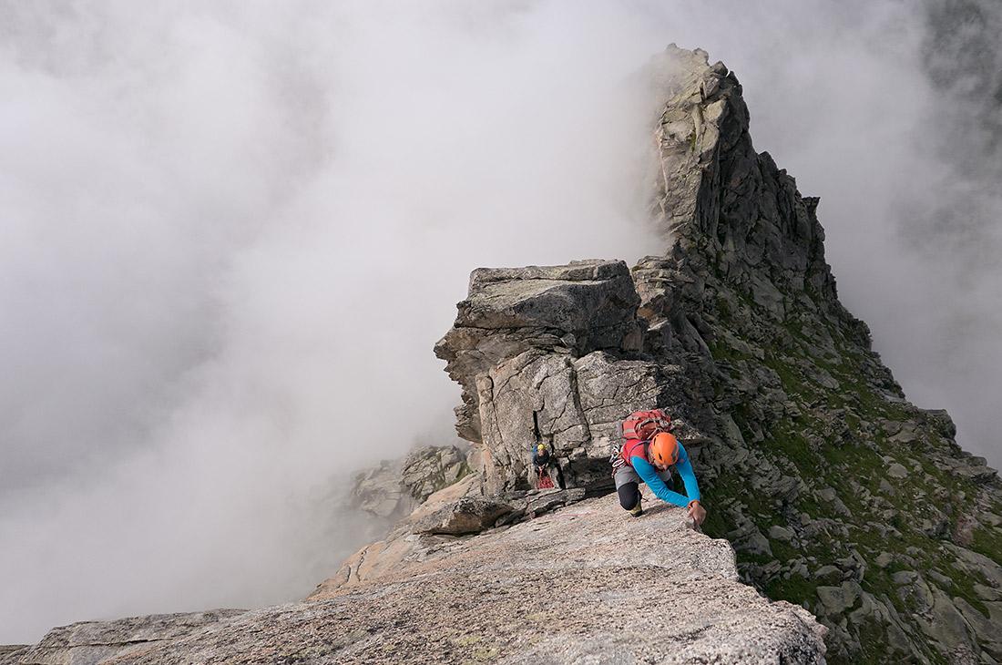 The south ridge of the Salbitschijen
