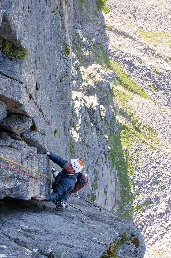 The Needle, Shelterstone, Northerm Cairngorms